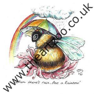 Bee and Rainbow